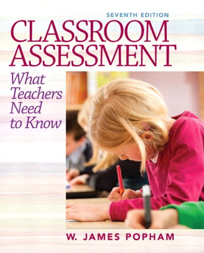 Classroom Assessment What Teachers Need to Know Plus NEW MyEducationLab with Pearson EText -- Access Card 7th 2014 edition cover