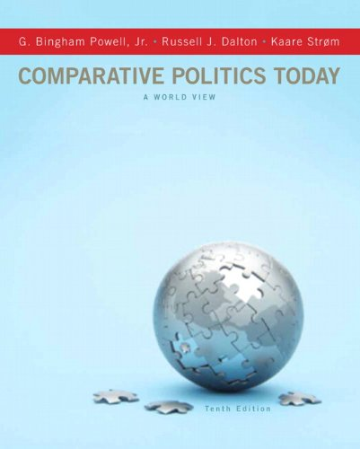 Comparative Politics Today A World View 10th 2012 (Revised) edition cover