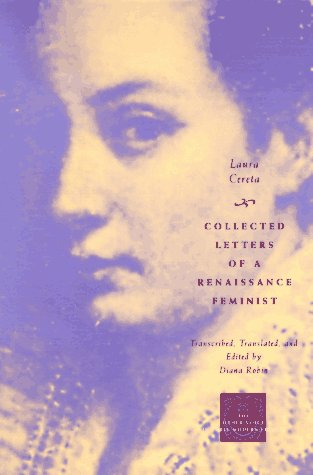Collected Letters of a Renaissance Feminist   1997 edition cover