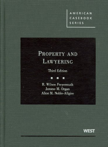Property and Lawyering  3rd (Revised) edition cover