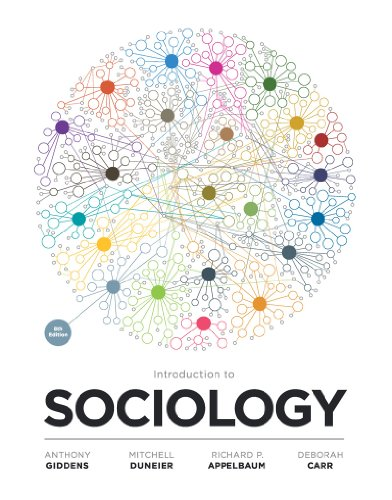 Introduction to Sociology  8th 2012 edition cover