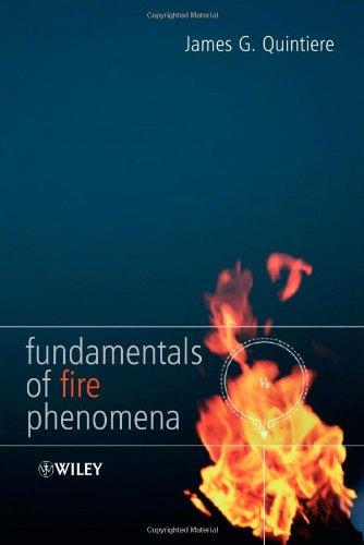 Fundamentals of Fire Phenomena   2006 edition cover