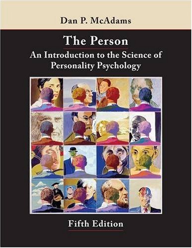 Person An Introduction to the Science of Personality Psychology 5th 2009 edition cover