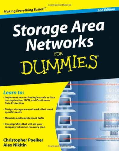 Storage Area Networks for Dummies  2nd 2009 edition cover