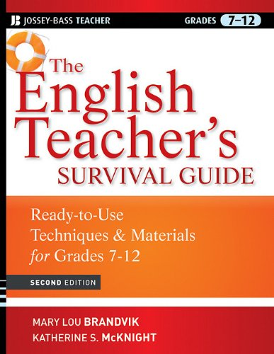 English Teacher's Survival Guide Ready-to-Use Techniques and Materials for Grades 7-12 2nd 2010 edition cover