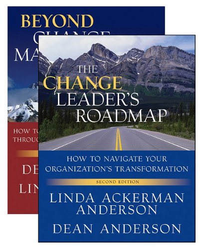 Change Leader's Roadmap and Beyond Change Management  2nd 2010 edition cover