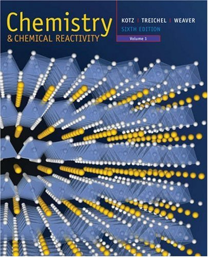 Chemistry and Chemical Reactivity  6th 2006 edition cover