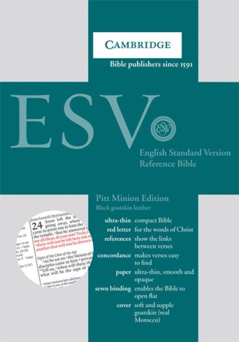 ESV   2008 9780521708135 Front Cover