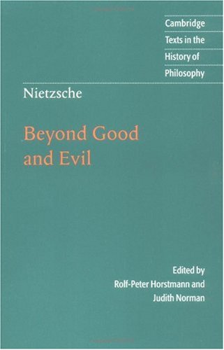Beyond Good and Evil   2002 9780521779135 Front Cover
