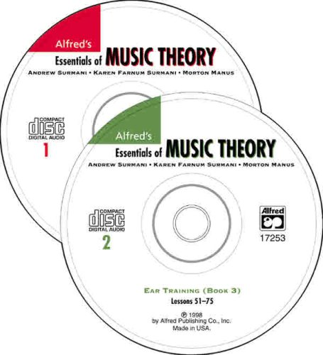 Essentials of Music Theory: Ear Training 1st 1998 edition cover