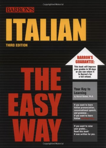 Italian the Easy Way  3rd 2006 edition cover