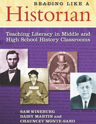 Reading Like a Historian Teaching Literacy in Middle and High School History Classrooms  2011 edition cover