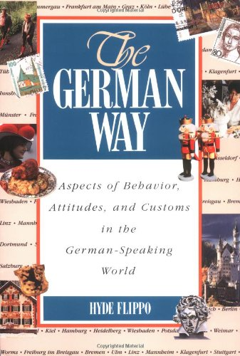 German Way Aspects of Behavior, Attitudes, and Customs in the German-Speaking World  1996 edition cover