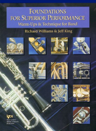 Foundations for Superior Performance : Alto Saxophone Student Manual, Study Guide, etc.  edition cover
