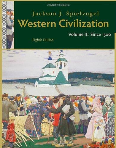 Western Civilization since 1500  8th 2012 edition cover