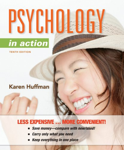 Psychology in Action  10th 2012 edition cover