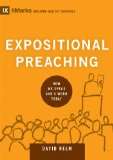 Expositional Preaching How We Speak God's Word Today  2014 edition cover