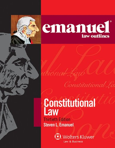 Constitutional Law:   2012 edition cover