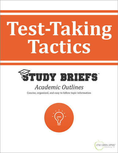 Test-Taking Tactics   2015 9781634261135 Front Cover