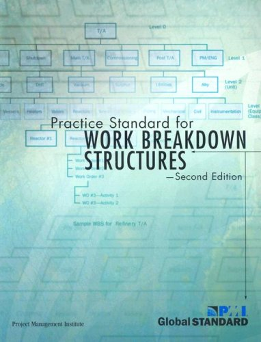 Practice Standard for Work Breakdown Structures  2nd 2006 edition cover