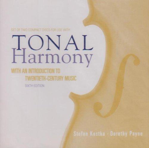 Audio CD/Tonal Harmony  6th 2009 edition cover