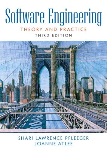 Software Engineering Theory and Practice 3rd 2006 (Revised) edition cover