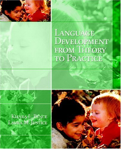 Language Development from Theory to Practice   2008 edition cover