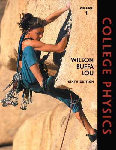 College Physics, Volume 1  6th 2007 (Revised) edition cover
