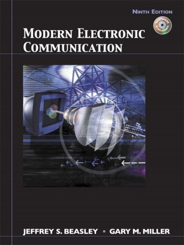 Modern Electronic Communication  9th 2008 edition cover