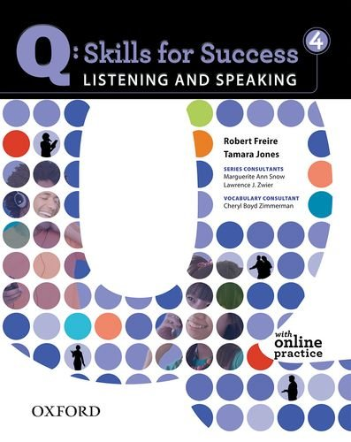 Q - Skills for Success - Listening and Speaking  Student Manual, Study Guide, etc. edition cover