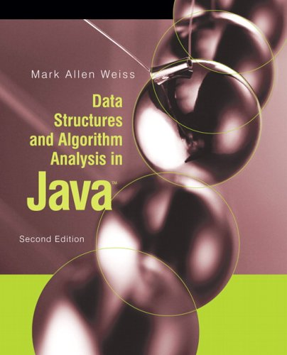 Data Structures and Algorithm Analysis in Java  2nd 2007 (Revised) 9780321370136 Front Cover