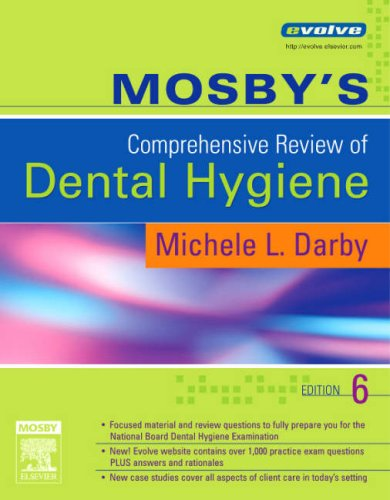 Mosby's Comprehensive Review of Dental Hygiene  6th 2006 (Revised) edition cover