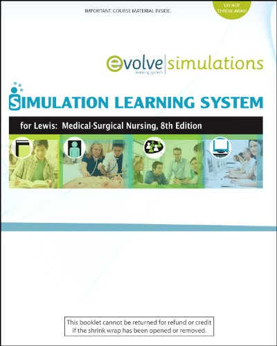 Simulation Learning System for Lewis Medical-Surgical Nursing 8th 2010 edition cover