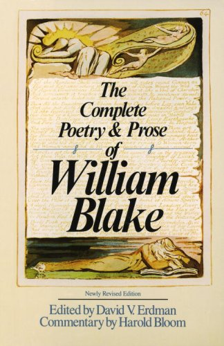 Complete Poetry and Prose of William Blake  Revised  edition cover