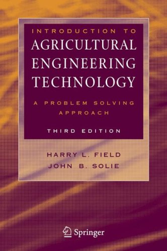 Introduction to Agricultural Engineering Technology A Problem Solving Approach 3rd 2007 (Revised) edition cover