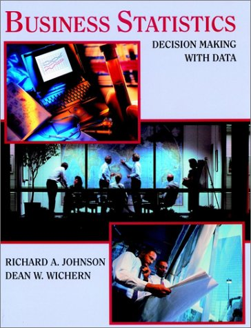 Business Statistics Decision Making with Data 1st 1997 9780471592136 Front Cover