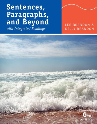 Sentences, Paragraphs, and Beyond With Integrated Readings 6th 2011 edition cover