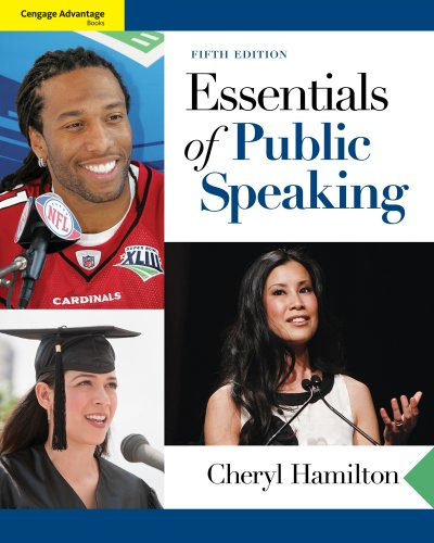 Essentials of Public Speaking  5th 2012 edition cover