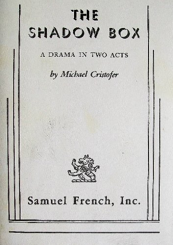 Shadow Box A Drama in Two Acts  1977 edition cover