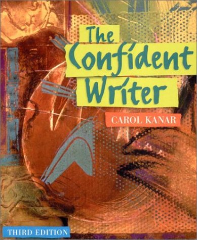 Confident Writer  3rd 2002 9780618131136 Front Cover