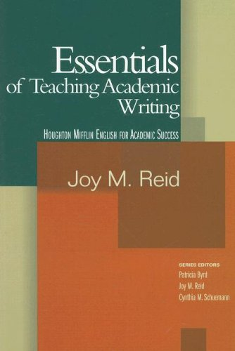 Essentials of Teaching Academic Writing   2006 9780618230136 Front Cover