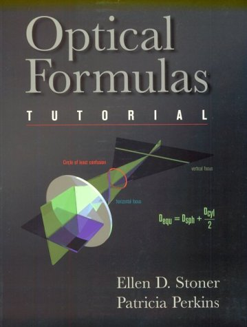 Optical Formulas Tutorial   1997 9780750699136 Front Cover