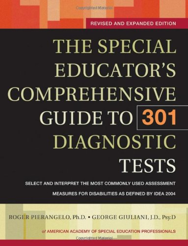 Special Educator's Comprehensive Guide to 301 Diagnostic Tests   2006 (Revised) edition cover