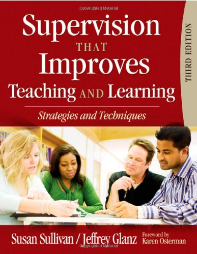 Supervision That Improves Teaching and Learning Strategies and Techniques 3rd 2009 edition cover