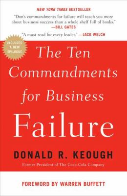 Ten Commandments for Business Failure  N/A edition cover