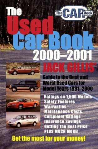 Used Car Book, 2000-2001  N/A 9780062737137 Front Cover