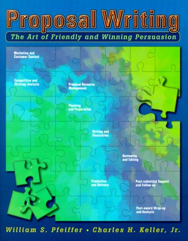 Proposal Writing The Art of Friendly and Winning Persuasion  2000 edition cover