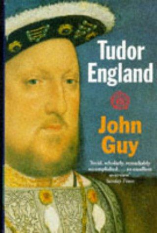 Tudor England   1988 (Reprint) edition cover
