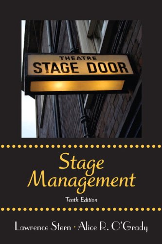 Stage Management  10th 2012 (Revised) edition cover