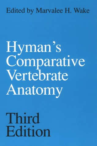 Hyman's Comparative Vertebrate Anatomy  3rd 1979 9780226870137 Front Cover